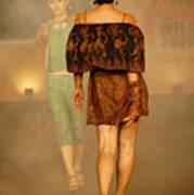 Fashion Catwalk Art Print