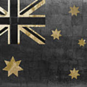 Fashion Flag Australia Art Print