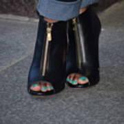 Fashionable Feet Art Print
