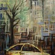 Fast City II Art Print by Janel Bragg