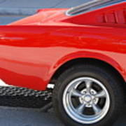 Fastback Mustang Art Print