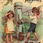 Father Tucks Nursery Rhymes Art Print