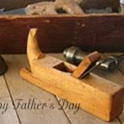 Fathers Day Tools Art Print