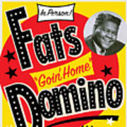 Fats Domino Art Print