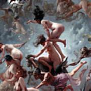 Faust's Vision Art Print by Luis Riccardo Falero