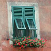 Faux  Painting Window  Art Print