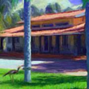 Farm Main House 1 Art Print