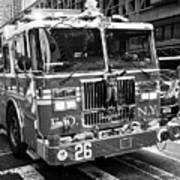 fdny engine New York City USA Art Print