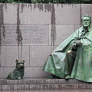 Fdr Memorial - Neither New Nor Order Art Print