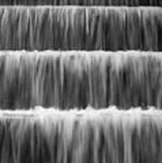 Fdr Memorial Waterfall Art Print