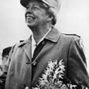 Fdr Presidency. Eleanor Roosevelt Art Print