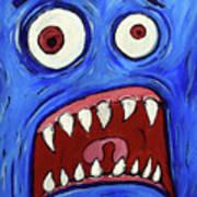 Fear-potentiated Startle Art Print