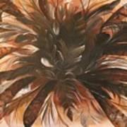 Feather Bloom Art Print