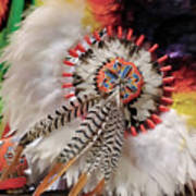 Feathers And Beads Art Print