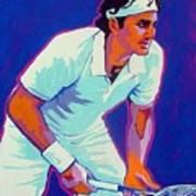 Federer Art Print