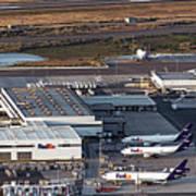 Fedex Express Fedex Ship Center At Oakland International Airport Art Print