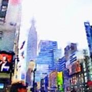 Feeling New York Art Print