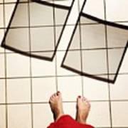 Feet Around The World #28 Art Print