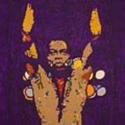 Fela Live Art Print