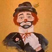 Felix The Clown Art Print