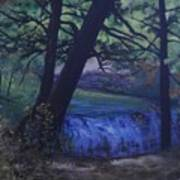 Felkers Falls, Stoney Creek, On Art Print