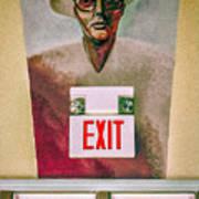 Fellini's Exit - Nola Art Print