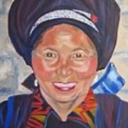 Fellow Traveller Great Wall Art Print