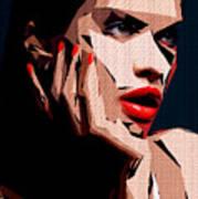 Female Expressions Liv Art Print