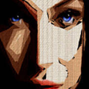 Female Expressions Lvi Art Print