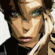 Female Expressions Xliv Art Print
