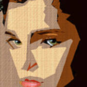 Female Expressions Xlviii Art Print