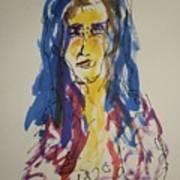 Female Face Study Y Art Print