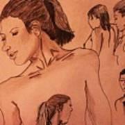 Female Figures Art Print