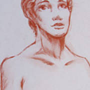 Female Model 10 Art Print