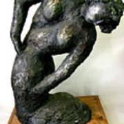 Female Torso Print by Gideon Cohn