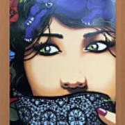 Femme Watcher Art Print