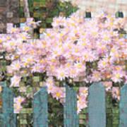 Fenced Mosaic Art Print