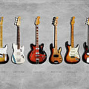 Fender Guitar Collection Art Print