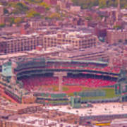 Fenway Park - Boston Art Print