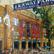 Fenway Summer Art Print by Gregg Hinlicky