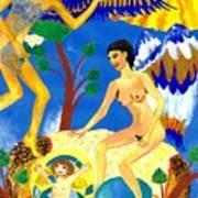 Feral Angels Art Print