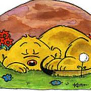Ferald Sleeping Art Print