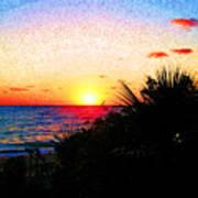 Fernandez Bay Sunset Art Print