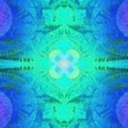 Ferns 2j Hotwax 3 Fractal Art Print