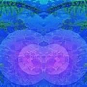 Ferns 2j Hotwax 3 Mirror Art Print