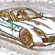 Ferrari 1 Art Print