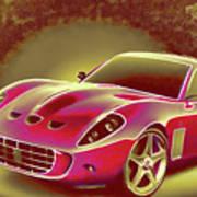 Ferrari 13 Art Print