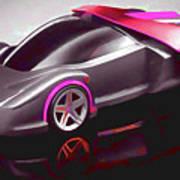 Ferrari 14 Art Print