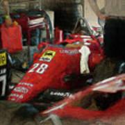 Ferrari 156/85 Art Print
