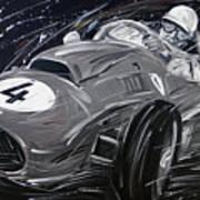 Ferrari 1958 Hawthrorn Art Print